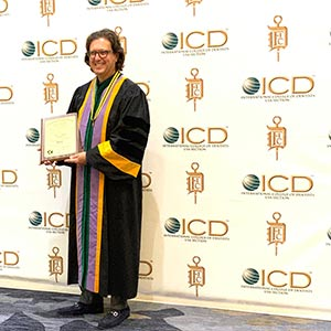 Dr. Eric Weiss awarded fellowship in the International College of Dentists
