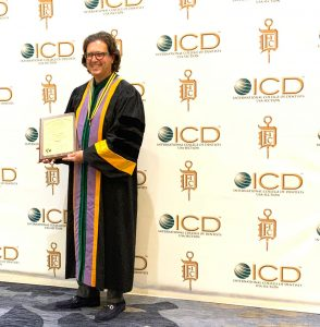 Dr. Weiss awarded fellowship in the International College of Dentists