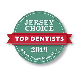 Jersey Choice Top Dentist 2019 Badge